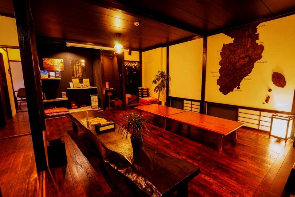 HostelKnot 修善寺温泉 ゲストハウス パブリックスペース