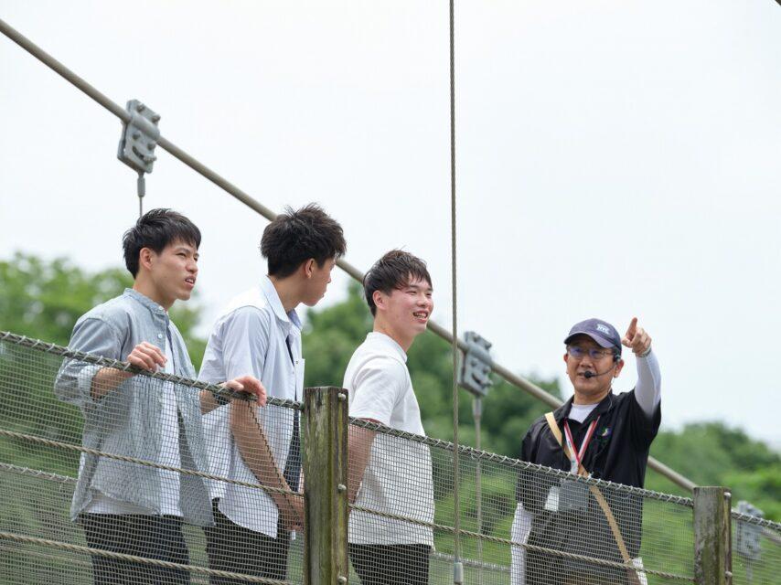 鮎壺の滝ガイドツアー